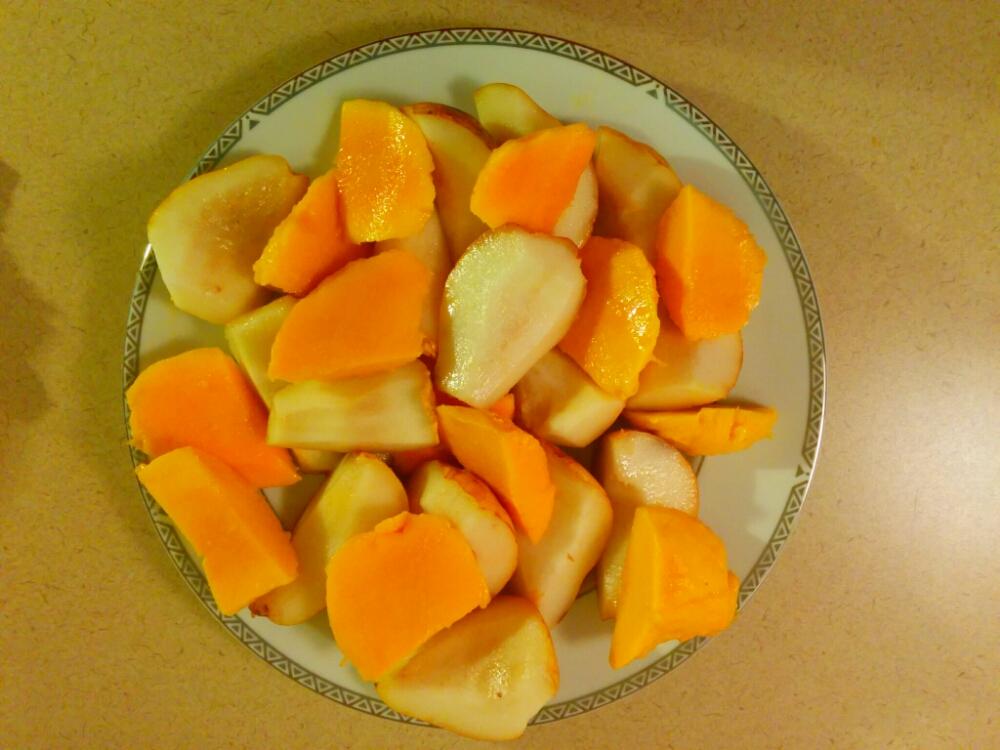 Mango Pear Platter