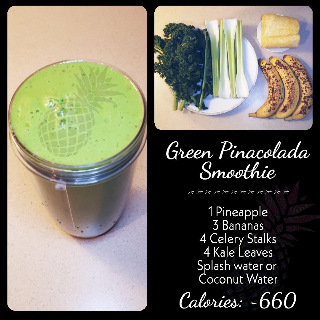Green Pinacolada Smoothie
