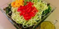 Creamy Basil Zucchini Pasta