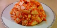 Apple Pear Carrot Date Volcano