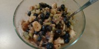Banana Blueberry Celery Salad