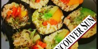 Raw Vegan Mango Avocado Sushi recipe is published in The Vancouver Sun