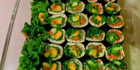 Raw Vegan Sushi Lettuce Edition
